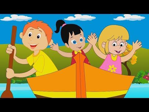 fila fila riga la tua barca musica per bambini rime del vivaio  Row Row Row Your Boat Preschool Song