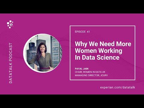 Why We Need More Women Working in Data Science @PeejJain #DataTalk