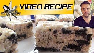 Oreo Rice Krispie Treats - Nicko's Kitchen