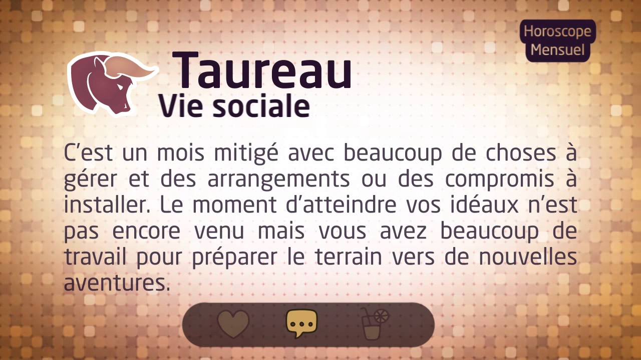 b7ccd8c9a24b Horoscope du Taureau d Avril 2017 - YouTube