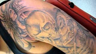 Video Aztec warrior by Hugo Mayen at Dr. Tattoos download MP3, 3GP, MP4, WEBM, AVI, FLV Juli 2018