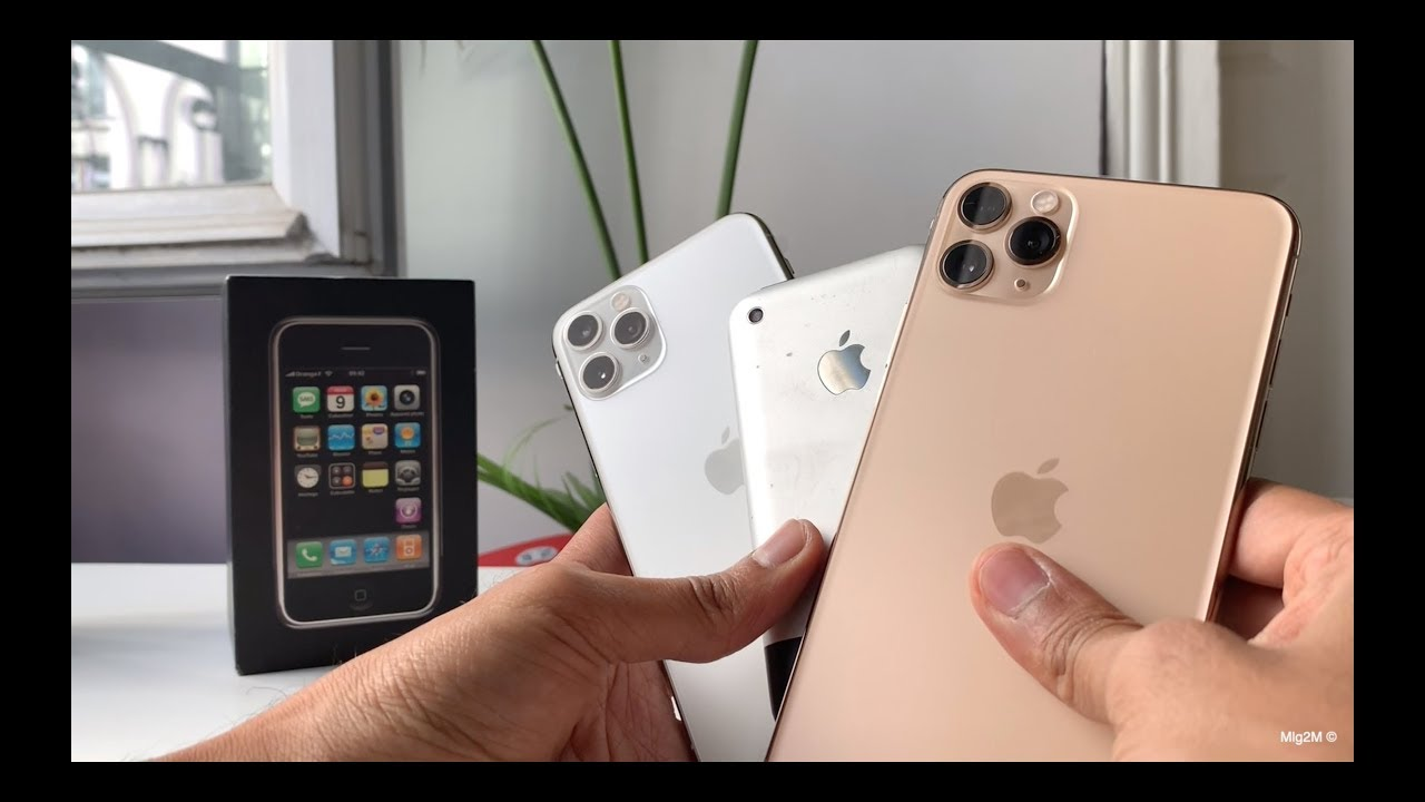 iPhone 11 Pro Max Gold / Pro Silver Unboxing \u0026 First Impressions [Vs  original iPhone]