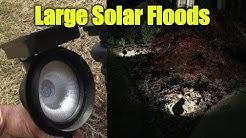 Large Solar Lights - Bright Landscape Lights Solar
