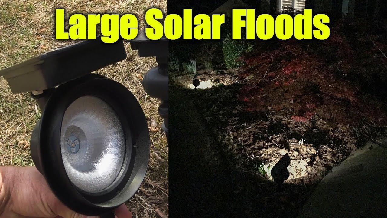 Large Solar Lights Bright Landscape