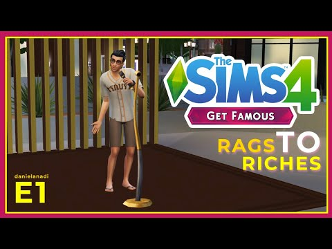 Jadi Pengamen Dulu Euyy | #1 | TheSims 4 Rags To Riches Indonesia