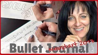 bullet journal neustart 2017 bujo kalender plan with me