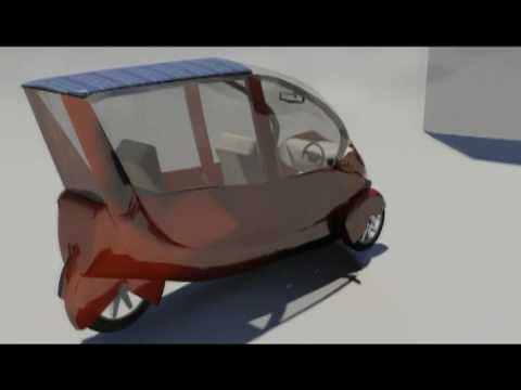 piaggio mp3 design study electric vehicle with accu and fuel cell