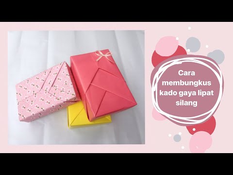Cara Membungkus Kado Tanpa Kotak | Gift Wrapping Ideas | Ide Kreatif | Diy Paper #48.