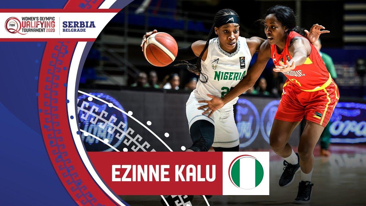 Ezinne Kalu (Nigeria) - Highlights | FIBA Women's Olympic Qualifying Tournament 2020