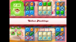 Candy Crush Jelly Saga Level 1151 (3 stars, No boosters)