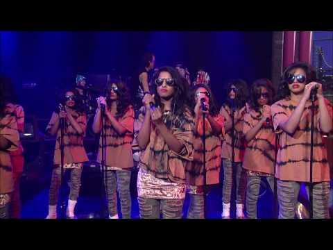 M.I.A. - Born Free (live on Letterman)