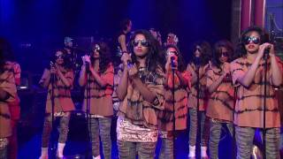 M.I.A. - Born Free (live on Letterman)