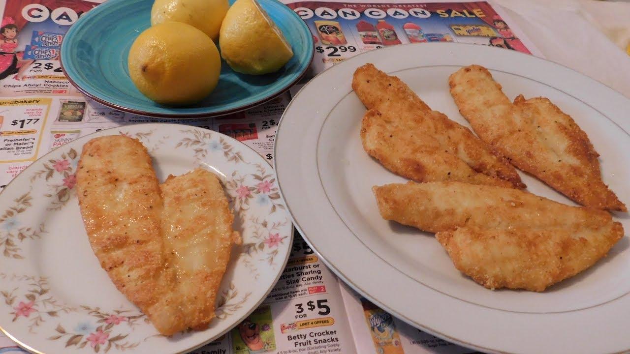 how to deep fry flounder