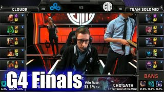 TSM vs Cloud 9 | Game 4 Grand Finals S5 NA LCS Spring 2015 playoffs | Team Solomid TSM vs C9 G4