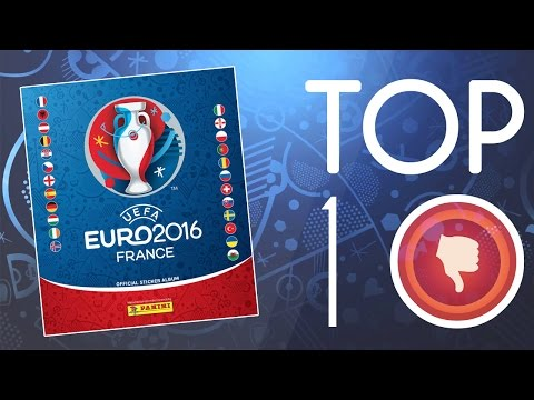 TOP 10 UEFA EURO 2016 Panini Album MISTAKES! Gone WRONG!