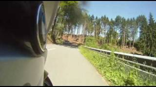 Motorcycle trip in the Luxembourg Ardennes  - Beaufort-Haller