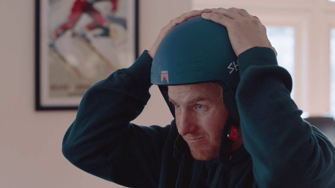 How To Custom Fit Your SHRED Basher Ski Race Helmet with Ted Ligety ... 8345053a658
