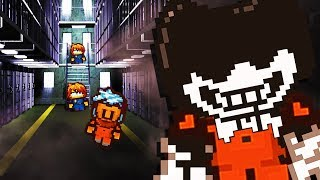 BENDY HELPS PRISONER ESCAPE!? 😱😱😱  - The Escapists 2 Gameplay (Funny Moments Part 3)