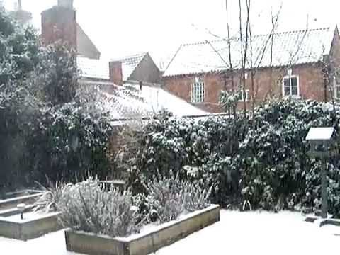 Newark-On-Trent  in winter season January 2010