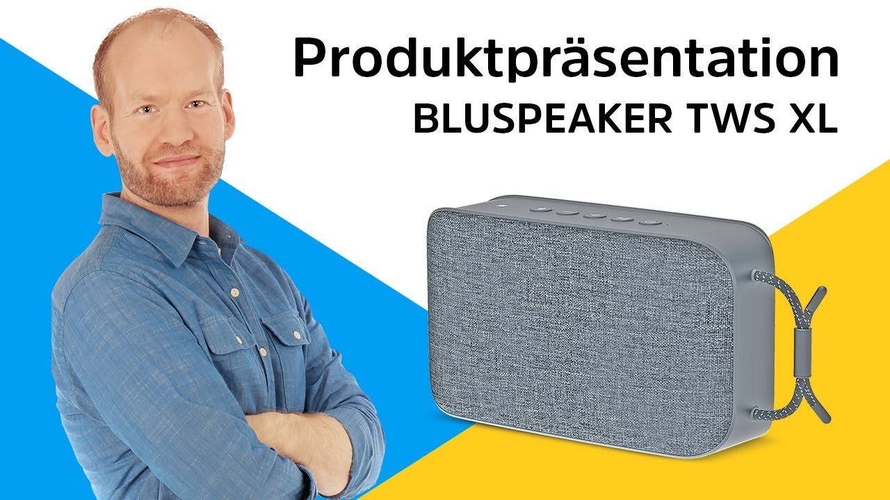 Video: BLUESPEAKER TWS XL | XXL Bluetooth-Lautsprecher. | TechniSat