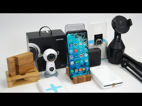 Best Accessories For Galaxy S8 and S8 Plus