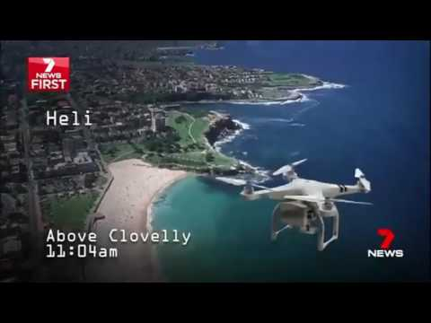 Helicopter Near Miss with Drone Sydney Australia courtesy - 7 News