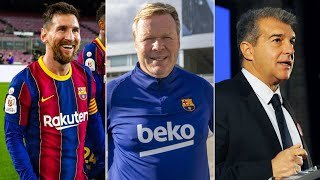 Ronald Koeman speaks on Barcelona's comeback, the election & the Madrid derby ahead of Osasuna