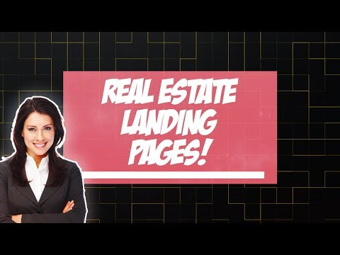 Real Estate Landing Page: Creating Your 1st Landing Page For Real Estate To Get Leads 🎯