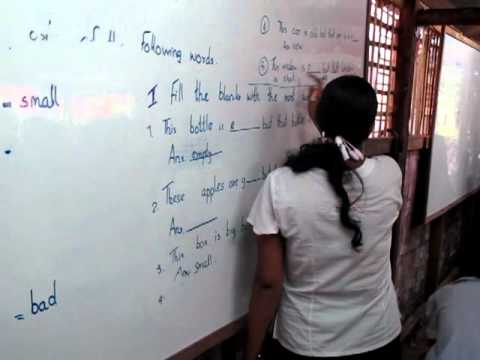 Mother's Home School in Hlaigtharyar township (Rangoon)