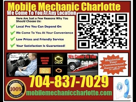 Mobile Auto Car Repair Service Charlotte NC 704-837-7029