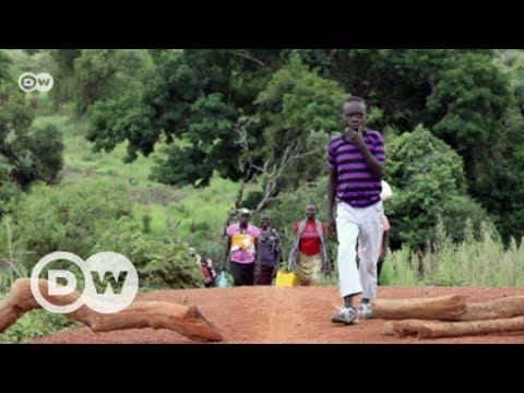 Uganda: Hilfe für Flüchtlinge aus Südsudan | DW Deutsch