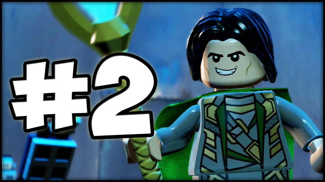 Exceptional LEGO MARVELu0027S AVENGERS   Part 2   Loki Is HERE!   YouTube