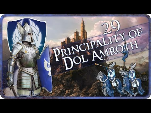 DEFENDING BARAD HARN - Principality of Dol Amroth - Third Age Total War: Divide and Conquer - Ep.29!