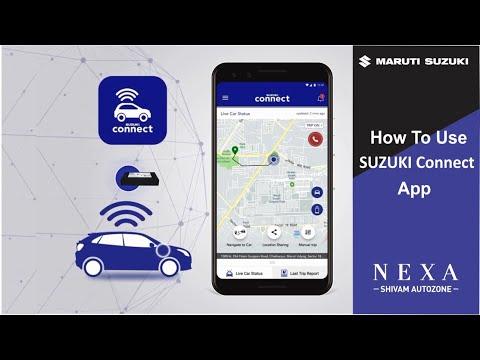 how-to-use-suzuki-connect-app- -shivam-autozone- -mumbai