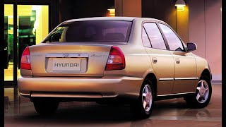 Hyundai Accent 2. Установка (снятие) заднего бампера