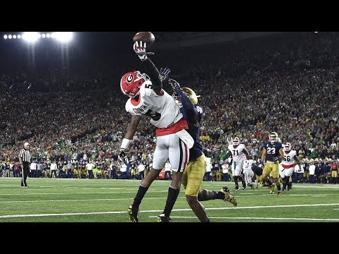 Top 10 Plays Of The 2017-18 Georgia Bulldogs Football Season