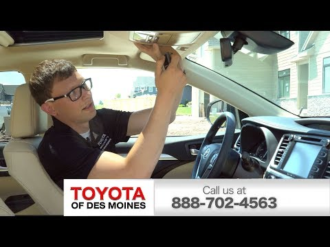 Setting up HomeLink® on your Toyota Vehicle