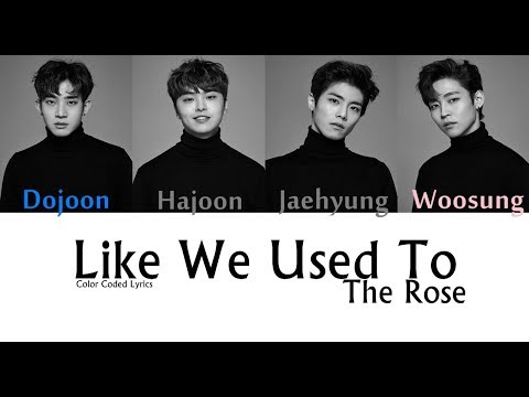 The Rose - Like We Used To (Color Coded LYRICS)