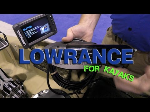 NEW Lowrance Fish Finders & Mounts for Kayak Anglers!