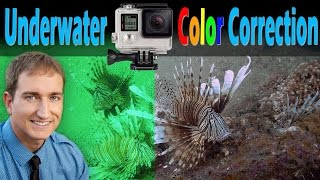 How To Professionally Color Correct GoPro Deep Underwater Footage