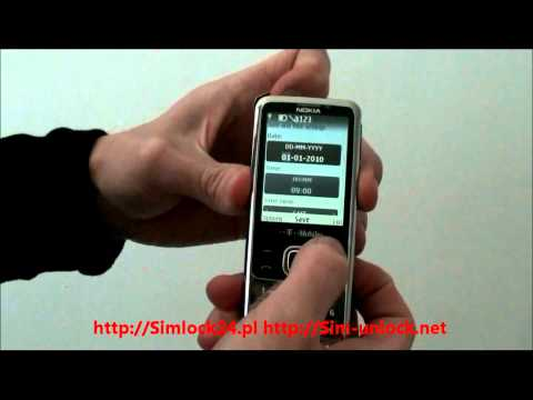 nokia 6700 unlocking by codes