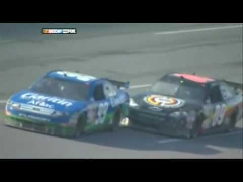 [Best view] Carl Edwards flying car NASCAR 2009 - YouTube Nascar Top View