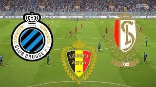 Belgian Super Cup 2018 Final - Club Brugge Vs R. Standard de Liege - 22/07/18 - FIFA 18 Predicts
