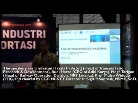 Transportation Industry Forum in  ITB CEO NET & Technopreneurship