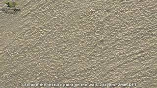 Crystone Paint Application Guide -Texture Effect Coating