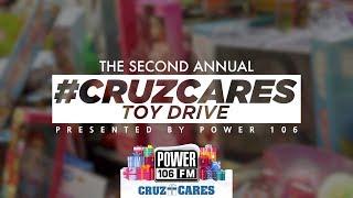 #CruzCares - Hip Hop Raises Over $50,000, 1,000+ Toys, And More!