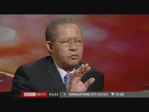"""NO GAYS"" says Jamaica's primeminister on bbc's hard talk"