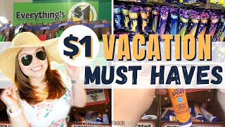 🏝DOLLAR TREE VACATION HACKS | Dollar Tree Summer Fun