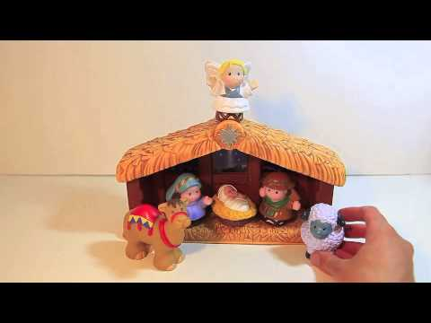 FIsher Price Little People Nativity Playset Christmas Toy ...