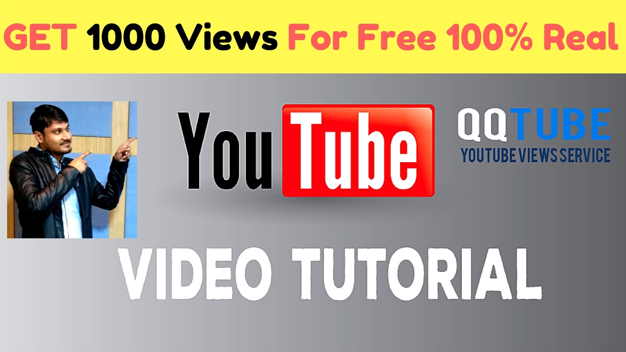 how to get real youtube views free